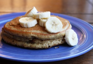 Oatmeal-Protein-Pancake